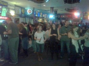 un crowd at Finnegan's Oct2013